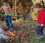 il fuoco e i bambini