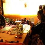 laboratorio di lanterne alla festa d'autunno