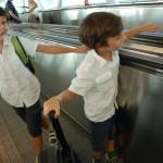 lorenzopedro e zeno partono per le vacanze