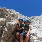 lorenzo pedro e zeno scalano il corno grande