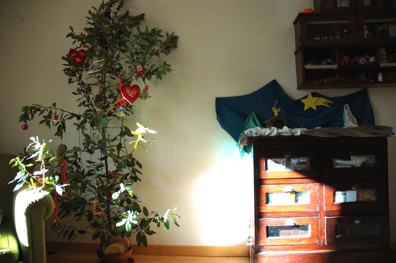 l'albero di natale di vivere semplice