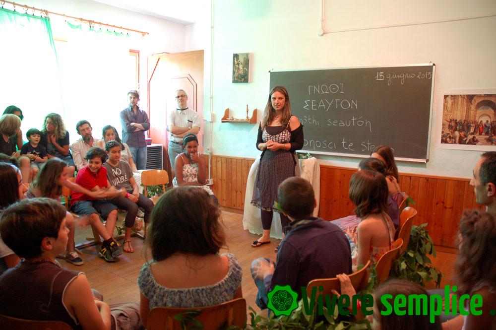 quinta classe scuola steiner rom