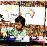 Un closieu anche a Roma: molto più di un laboratorio di pittura