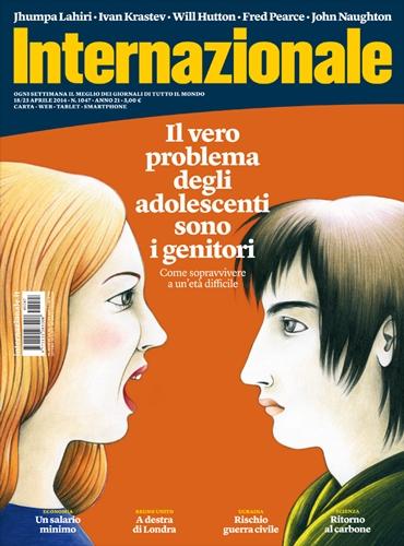 Il vero problema degli adolescenti sono i genitori -  Internazionale 1047 aprile 2014