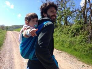 Portare i bambini -  vivere semplice