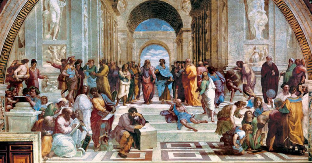 La scuola di Atene Raffaello