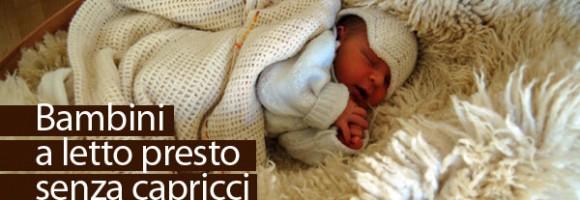 bambini a letto presto senza capricci - vivere semplice