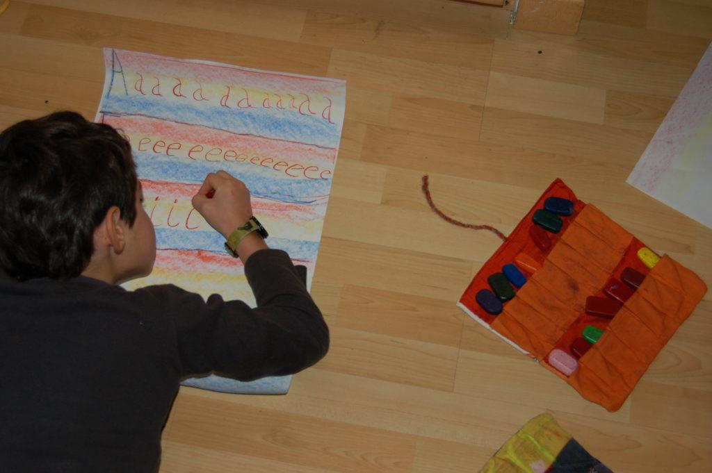 scrittura alla scuola steineriana